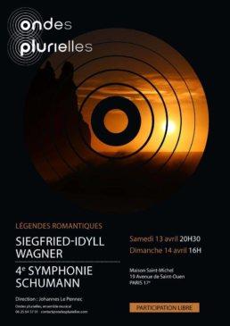 Affiche Ondes plurielles 2019 Schumann